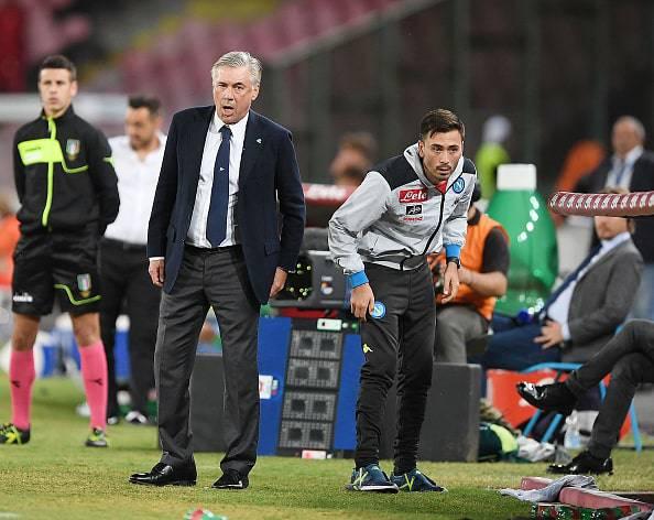 Napoli-Sassuolo Ancelotti
