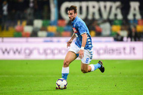 Udinese-Napoli Fabian Ruiz