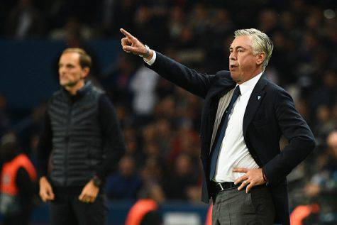 PSG-Napoli Ancelotti