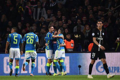 Statistiche PSG-Napoli