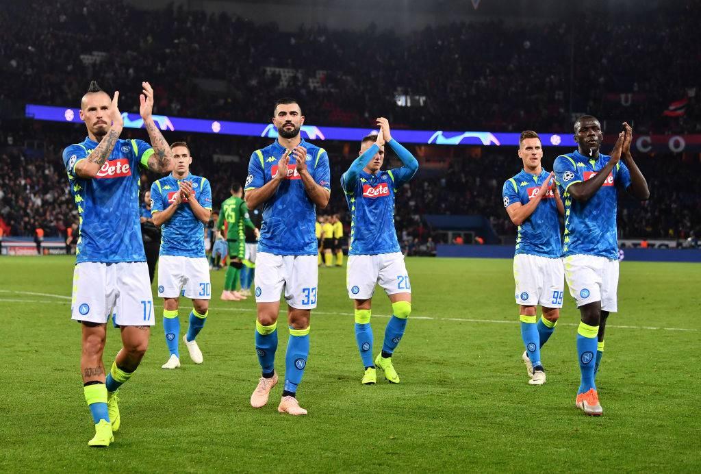 PSG Napoli ritorno