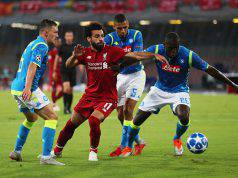 Liverpool Napoli formazioni ufficiali