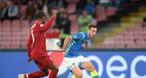 Napoli-Liverpool fabian ruiz