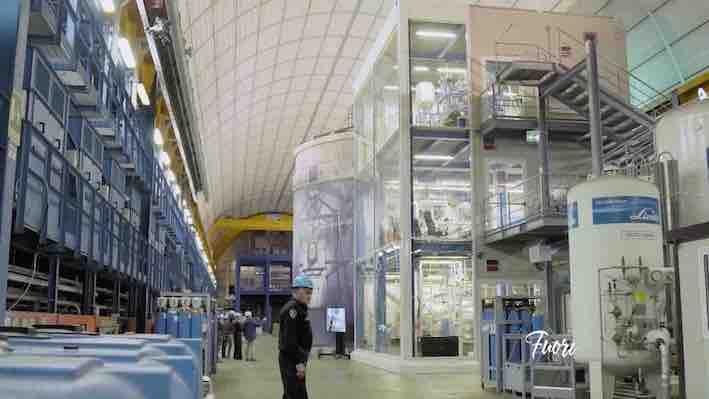 Napoli Laboratori Nazionali Gran Sasso