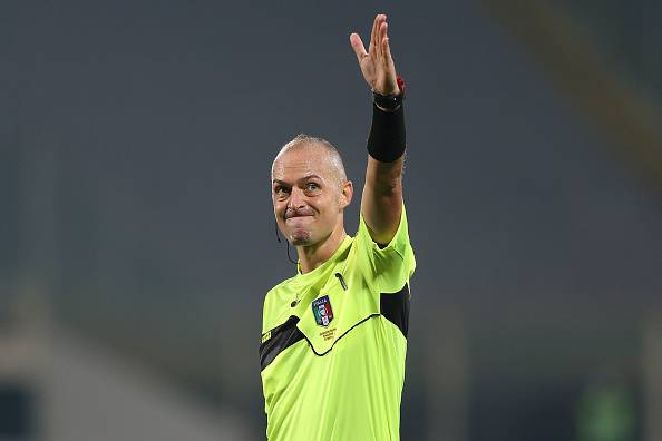 Napoli Sampdoria arbitro
