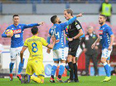 Arbitro Napoli-Sassuolo