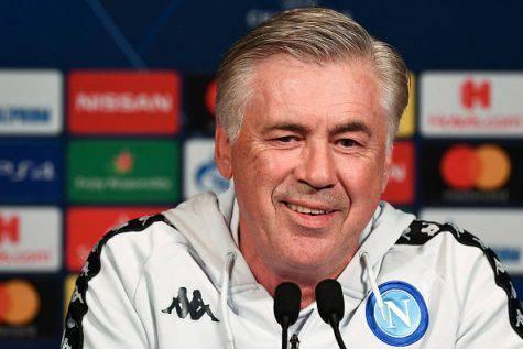 Conferenza Napoli-PSG