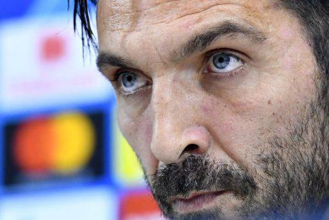 Buffon Napoli PSG