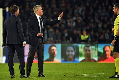 Napoli-PSG Ancelotti