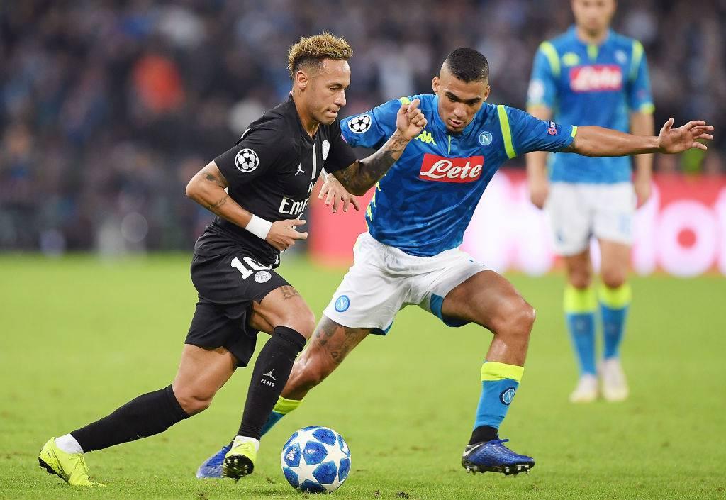 Allan Napoli PSG