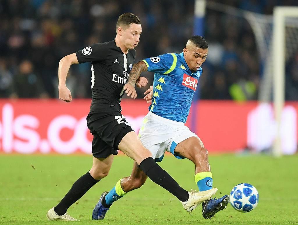 Draxler Napoli PSG