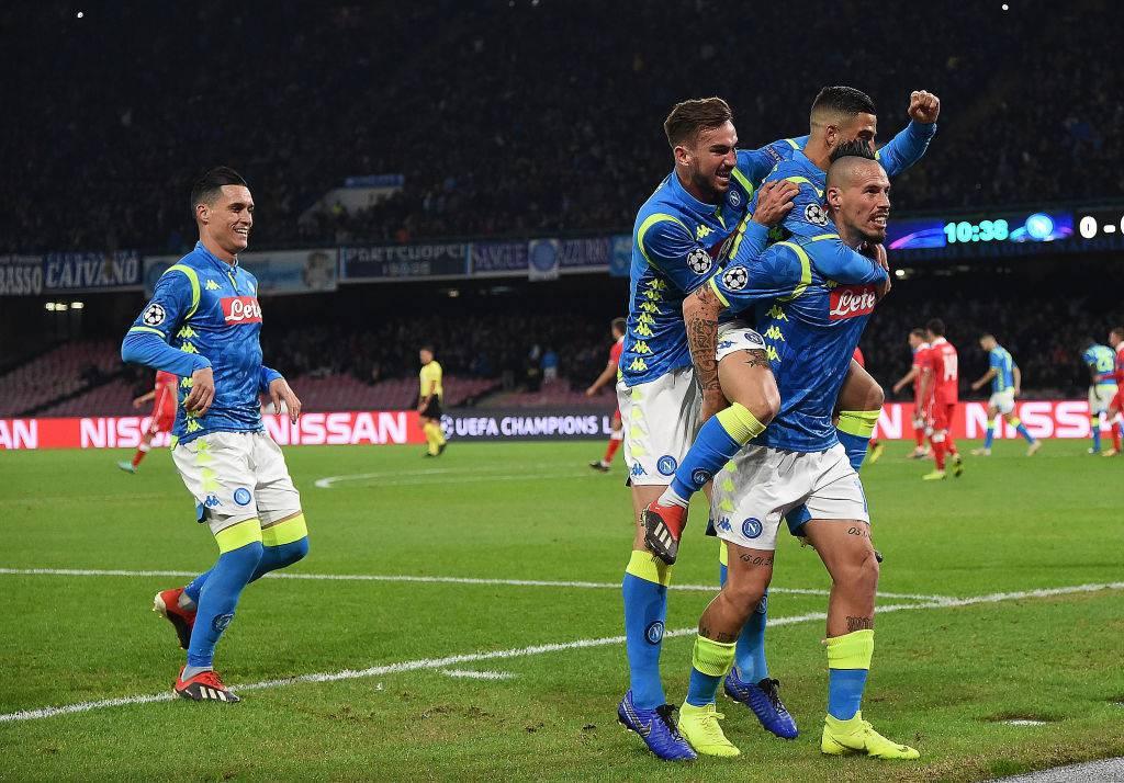 Liverpool-Napoli formazioni ufficiali