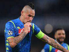 hamsik infortunio inter napoli