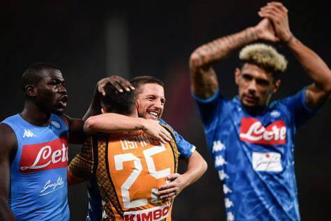 Napoli-Chievo vittoria