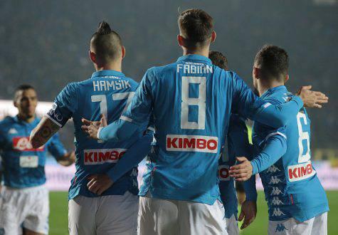Napoli-Frosinone Juve