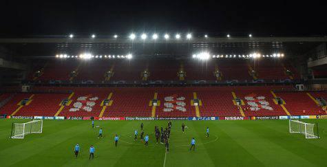 Liverpool-Napoli Anfield