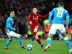 statistiche Liverpool-Napoli