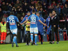 Napoli gol finali partita