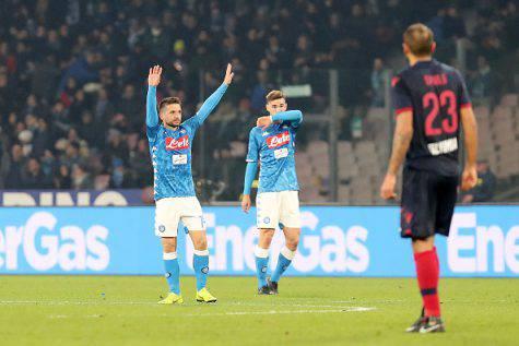 Mertens Napoli Bologna