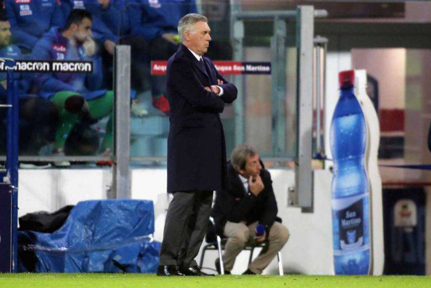 Napoli vittoria Ancelotti