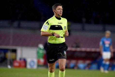 Rocchi arbitro Napoli-Juventus