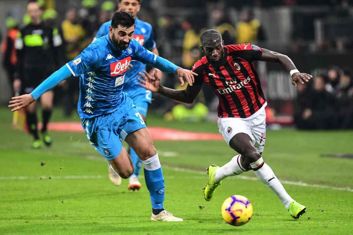 Napoli difesa Albiol