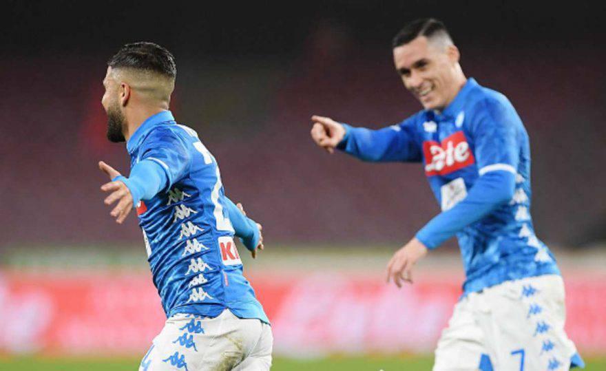 statistiche Napoli-Sampdoria