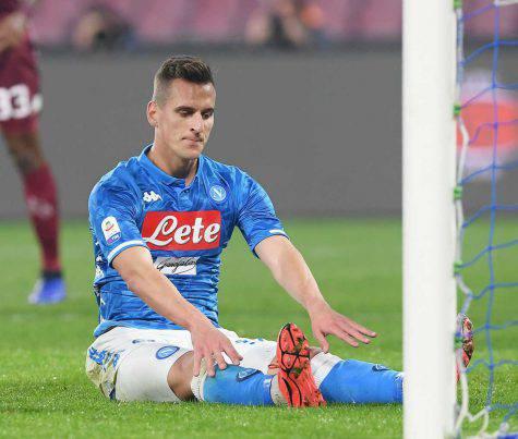 Napoli-Juventus infortunati