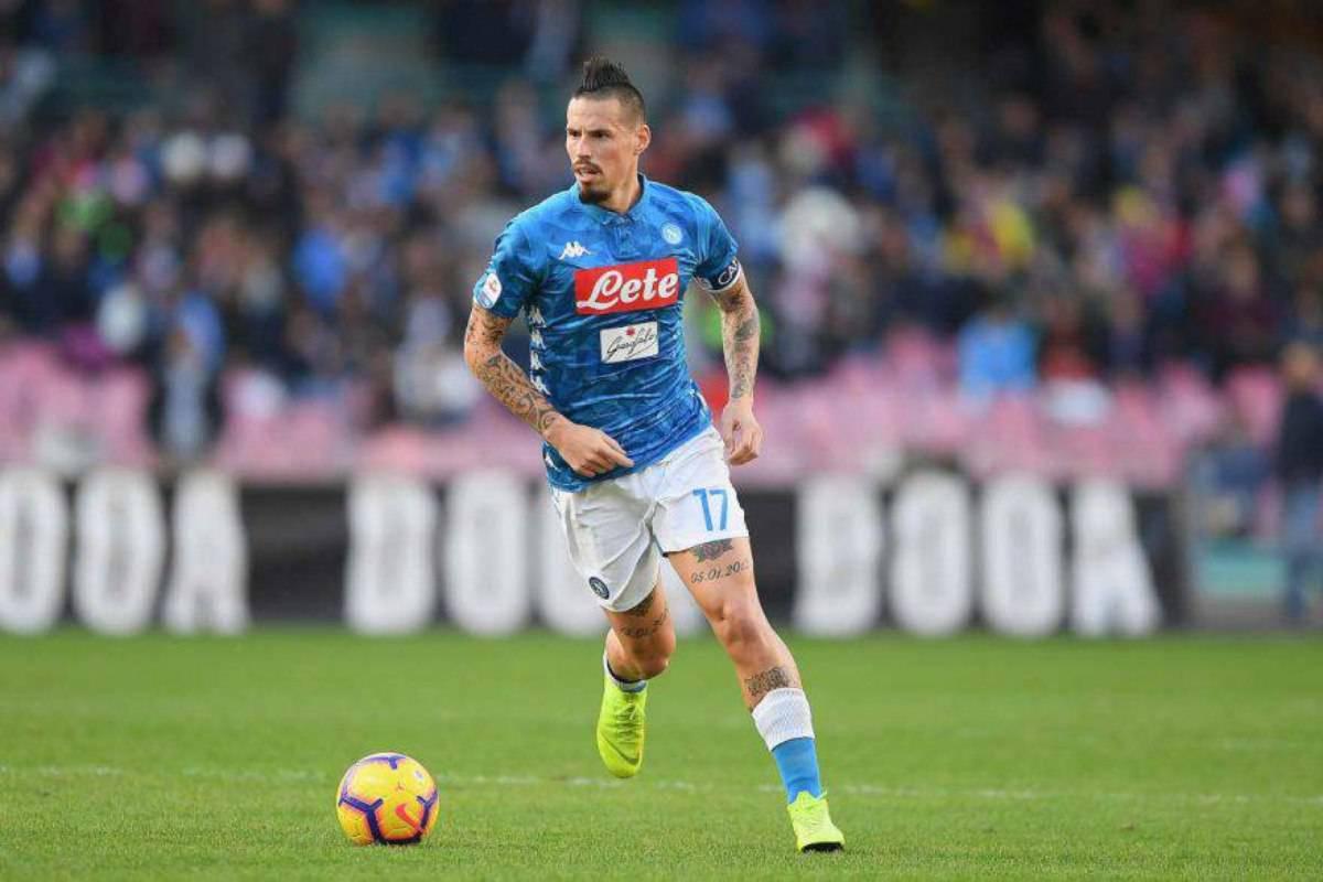 Napoli Hamsik Albiol