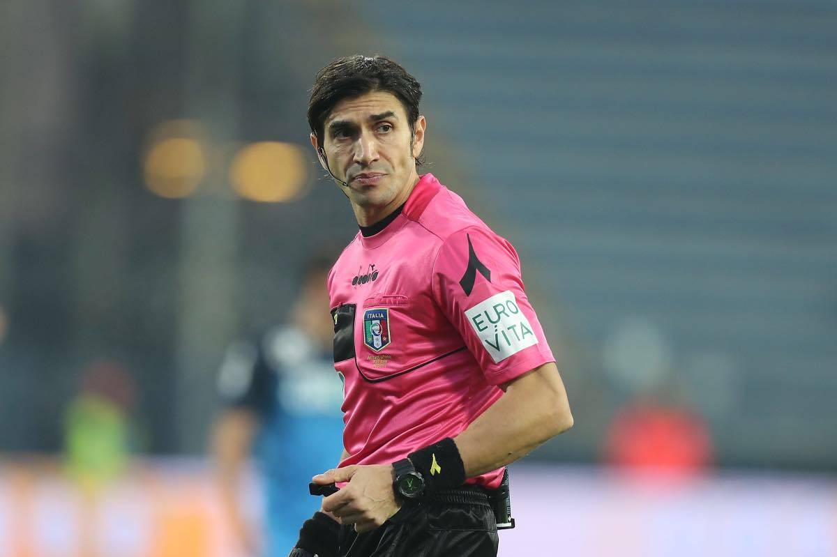Roma Napoli arbitro