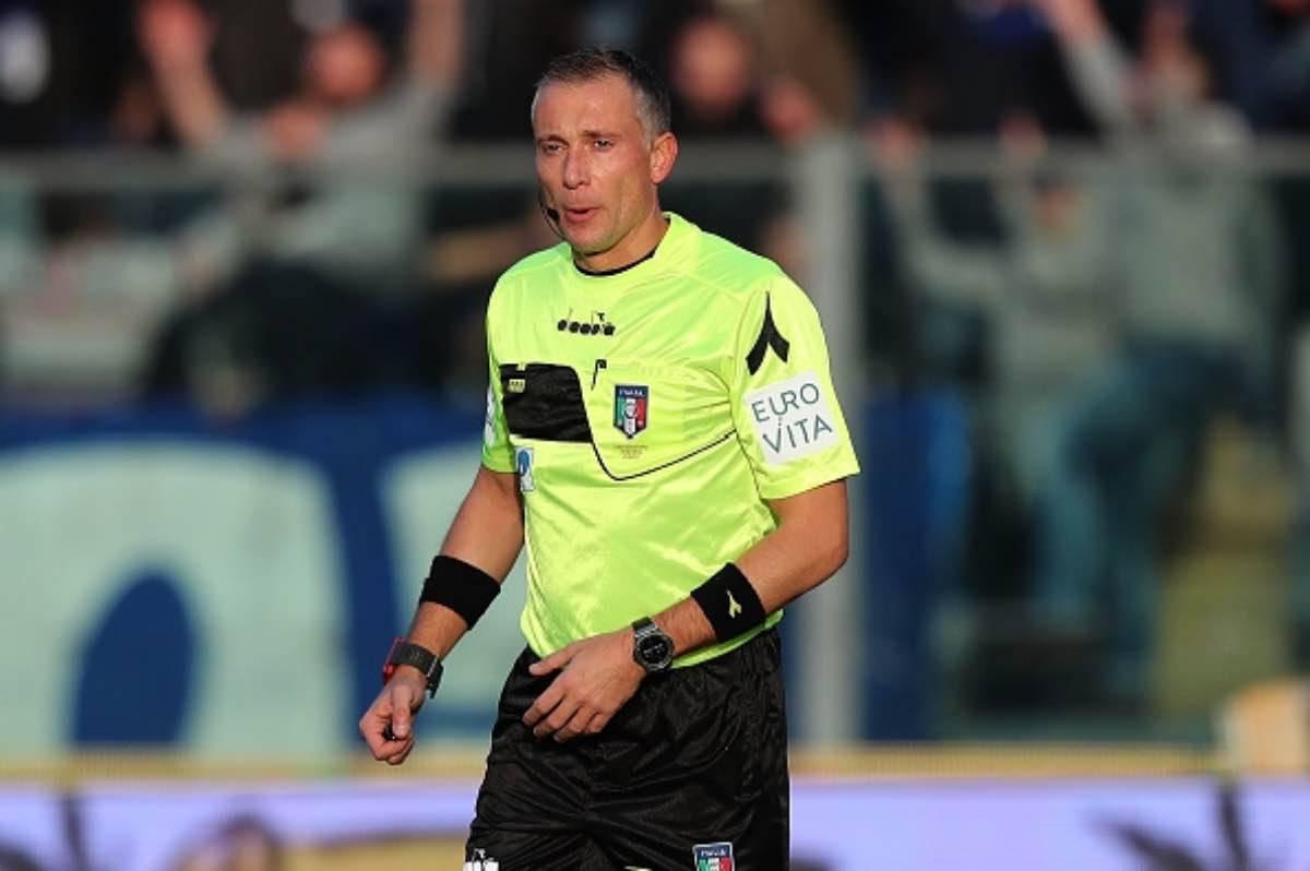 Napoli Udinese arbitro