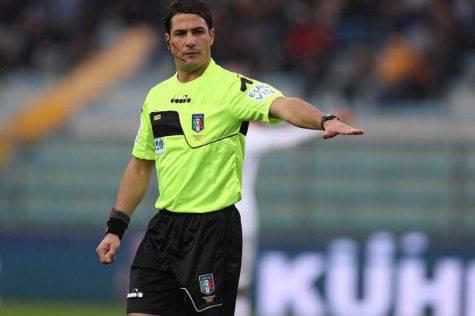 Arbitro Sassuolo-Napoli