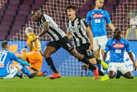 Napoi-Udinese gol