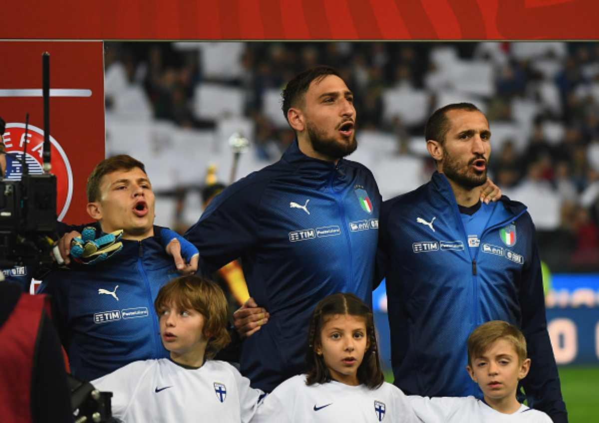 Nazionale a Napoli