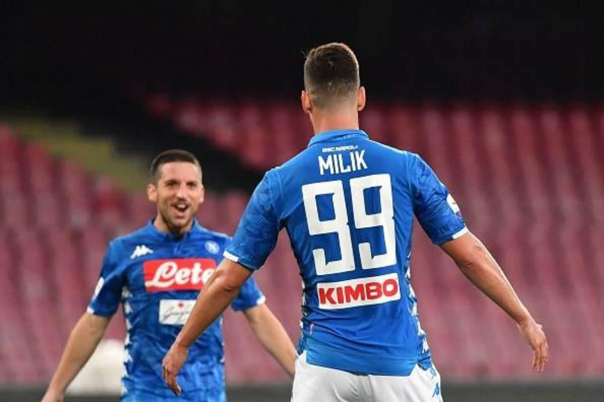 Napoli-Inter formazioni