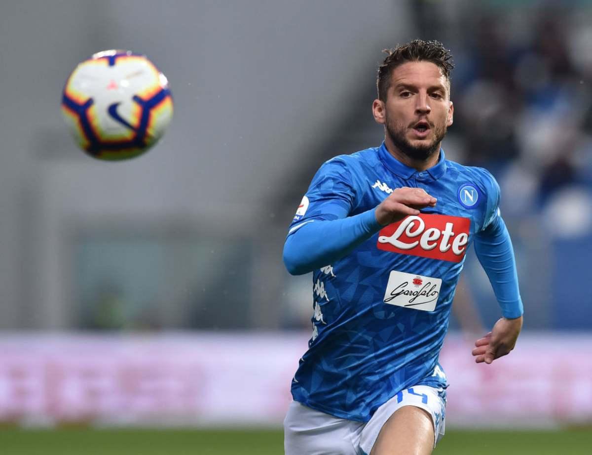 Napoli-Udinese Mertens