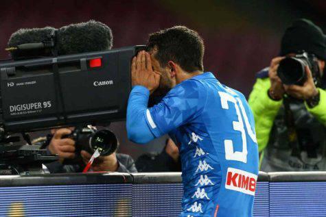Napoli-Udinese, Amin Younes