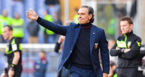 Prandelli conferenza stampa Napoli Genoa