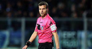 Frosinone Napoli arbitro