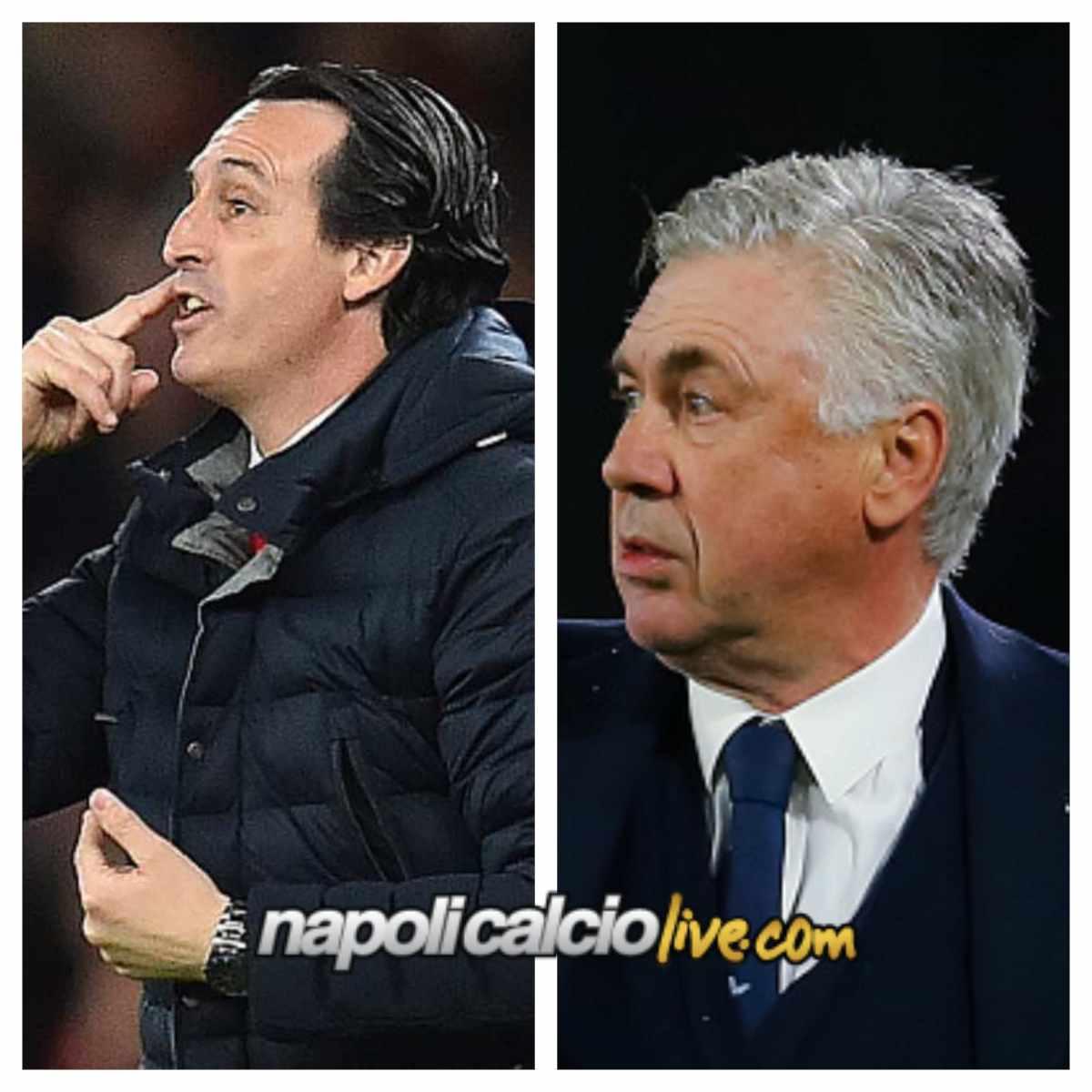 Confronto Emery-Ancelotti