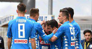 Napoli-Cagliari Ancelotti obiettivo
