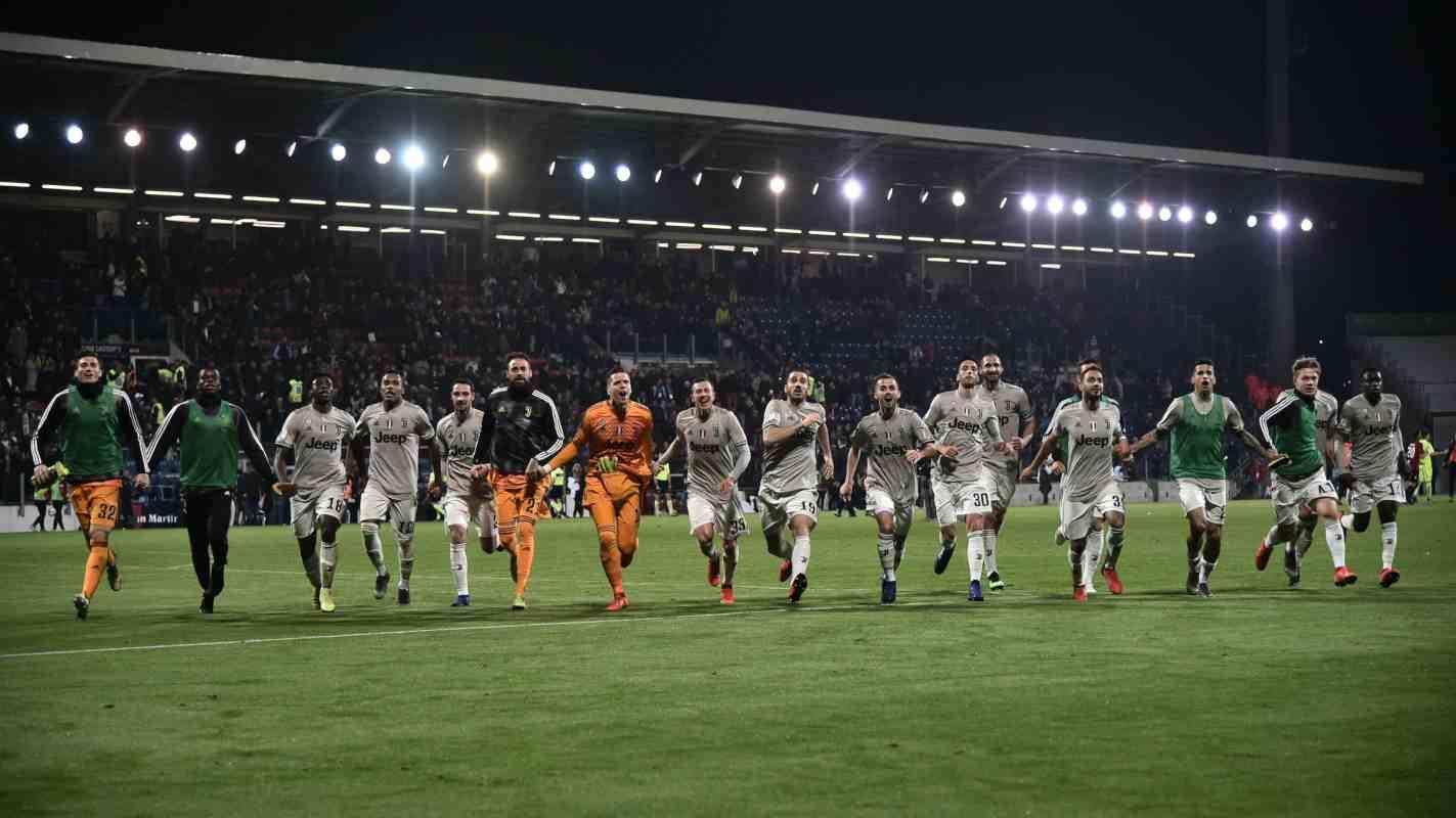 Ajax Juventus formazioni TV
