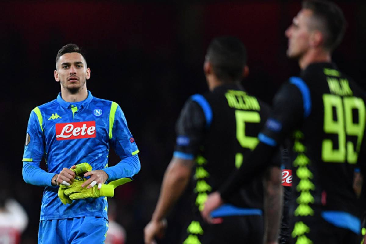 Arsenal-Napoli Meret