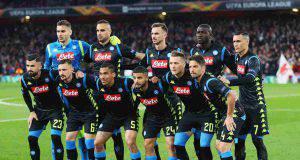 Napoli-Arsenal formazione
