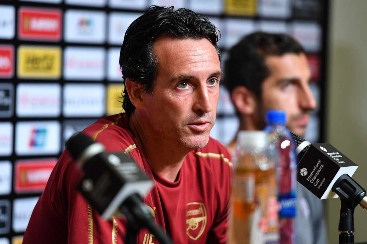 emery Arsenal-Napoli
