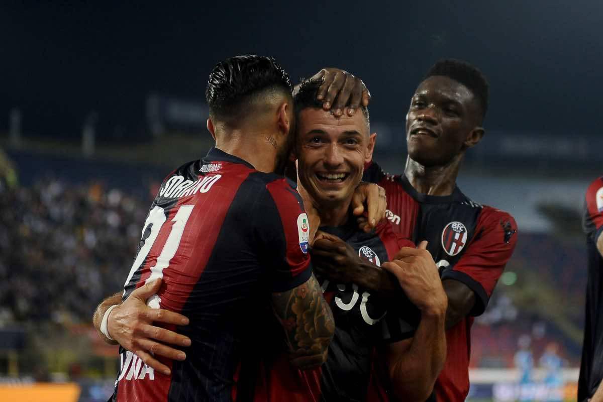 Bologna Napoli gol Dzemaili