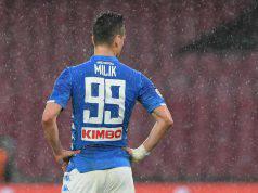 Milik calciomercato Napoli attacco