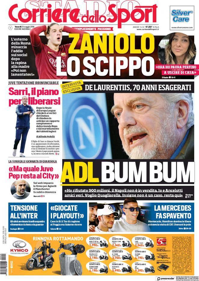 De Laurentiis Corriere dello Sport