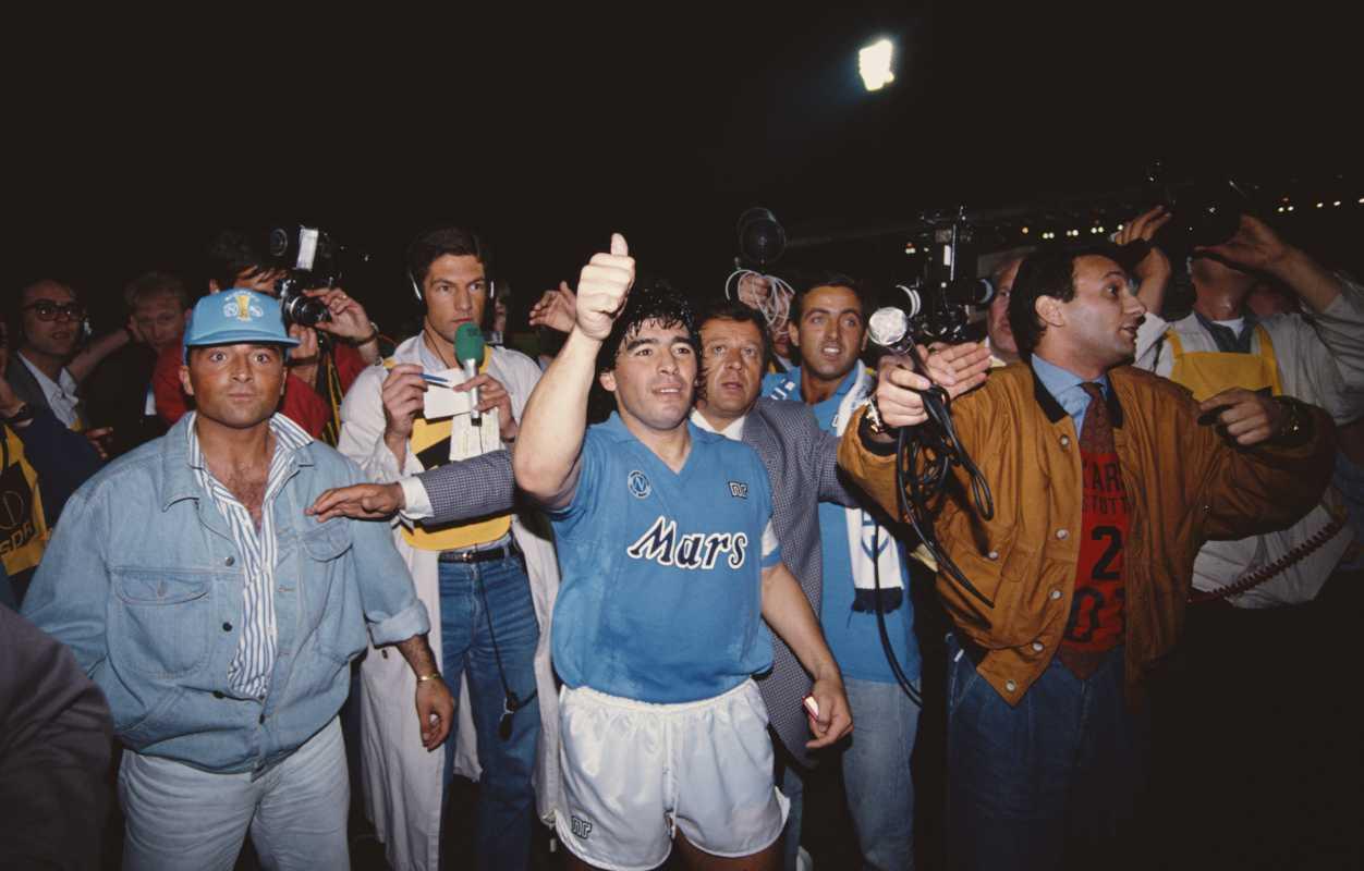 Maradona Coppa Uefa