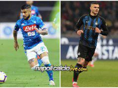 Napoli-Inter Insigne-Icardi
